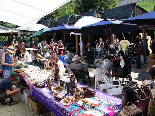 Cottonwood Community Market in Nelson, BC.